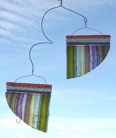 Fused-Glass-and-Stainless-Steel-Mobile