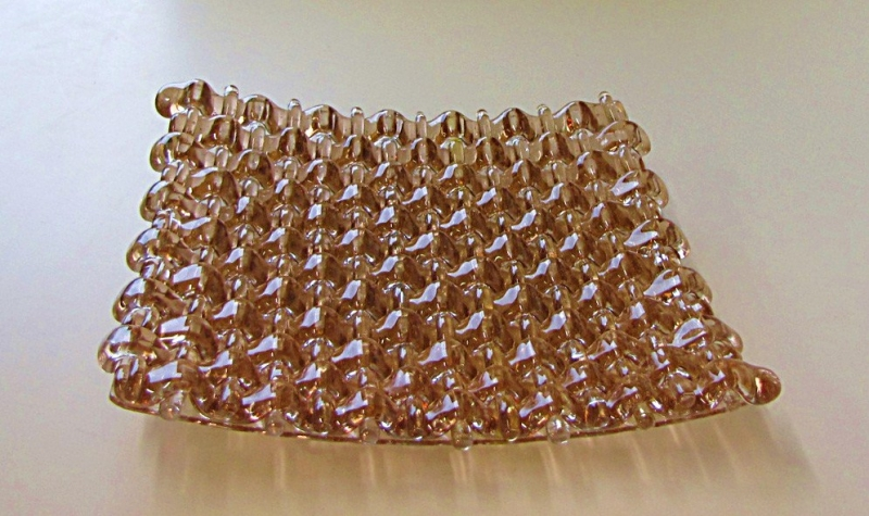 Woven-Fused-Glass-Plate