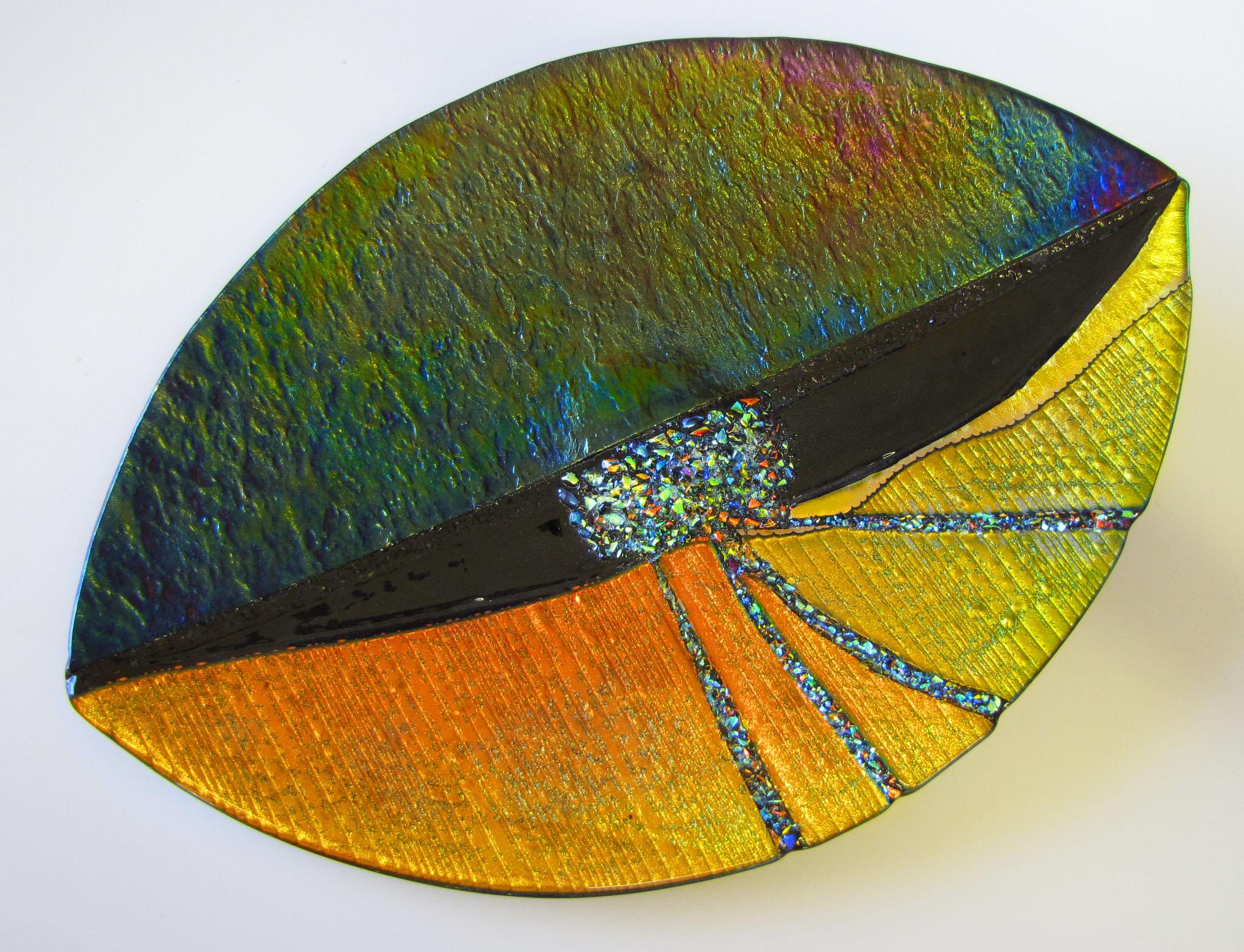 Gold-Dichroic-Platter