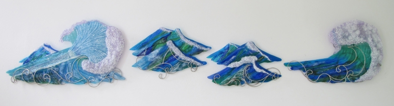 Large-Fused-Glass-Wall-Sculpture
