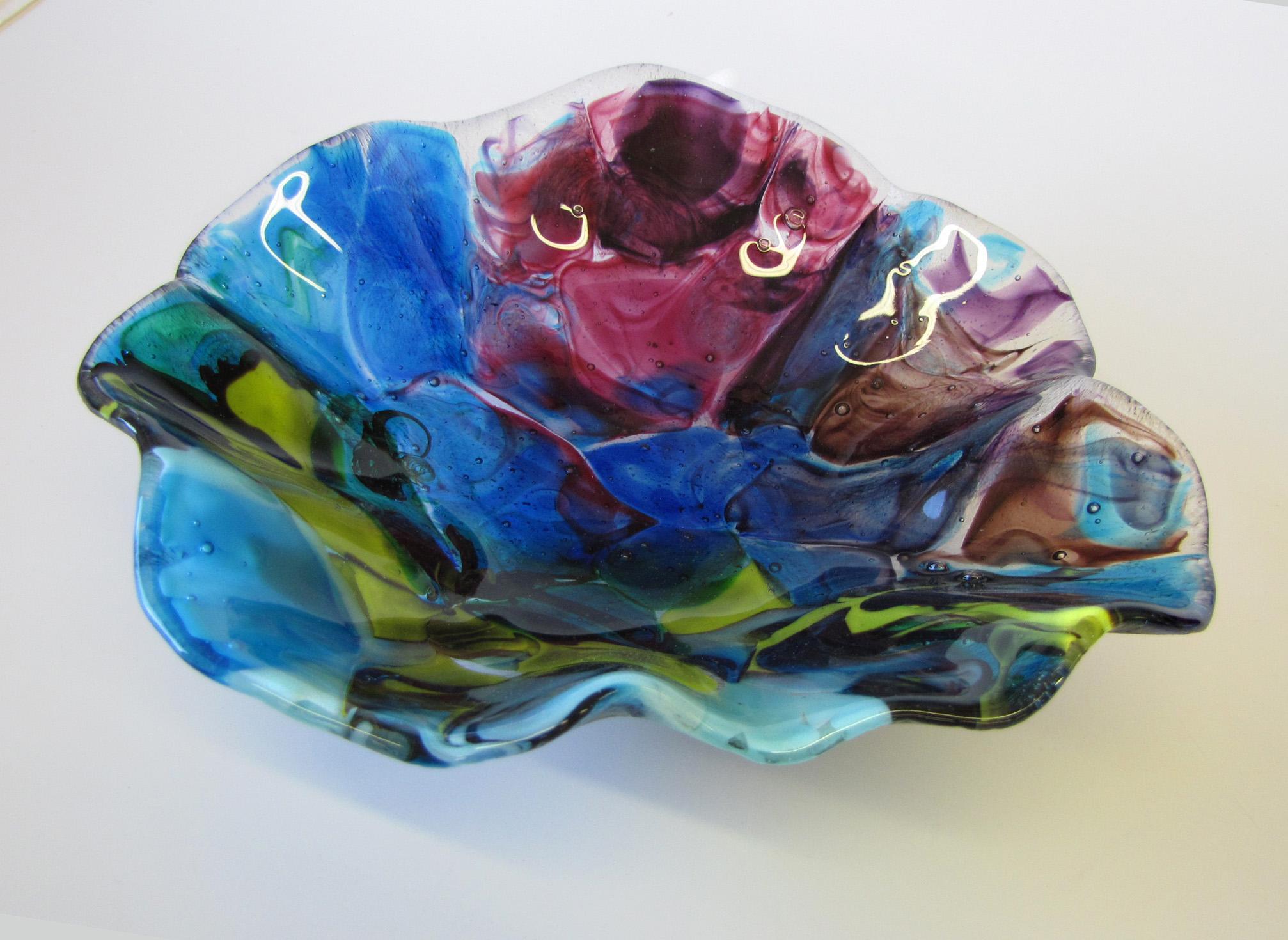 Screen-Melt-Glass-Bowl