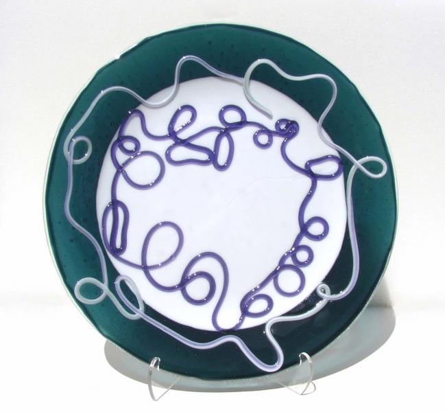 Fused-Glass-Vitrigraph-Stringer-Bowl